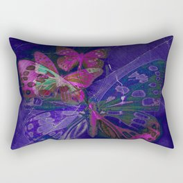 Marble Butterflies Rectangular Pillow