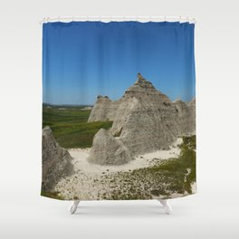 The Beauty Of A Rough Country Shower Curtain