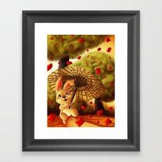 Year of the Bunny Framed Art Print