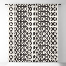 B&W Tribal #society6 #tribal Blackout Curtain