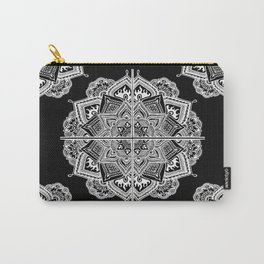 Mandala Lace (Tile) Carry-All Pouch