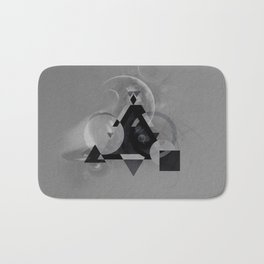 Abstract Triangle Bath Mat