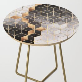 Smoky Cubes Side Table