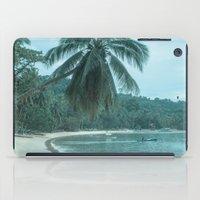 clint barton iPad Cases featuring Port Barton by Sandy Broenimann