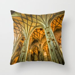 St Stephens Cathedral Vienna Art Throw Pillow