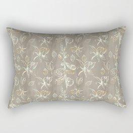 Foxglove Pattern Rectangular Pillow