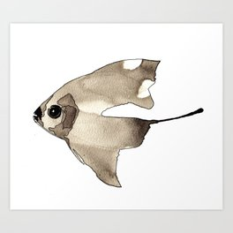Sail Fish Art Print