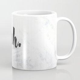 NAH Marble Quote Coffee Mug