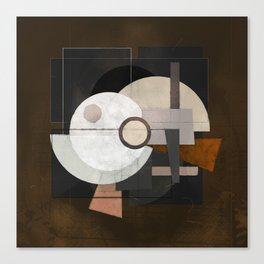 Tisa Schlemm on brown Canvas Print