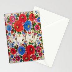 Russian Folk Art on Wood 04 Stationery Cards