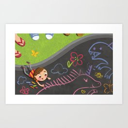 Small - dream big Art Print