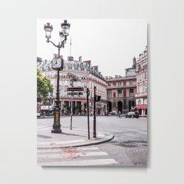 Time in Paris Metal Print