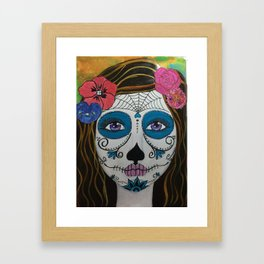 Day of the Dead Girl1 Framed Art Print