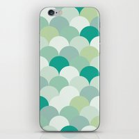 scales iPhone & iPod Skins featuring SCALES by Sarah Stark