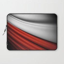 flag of Poland Laptop Sleeve