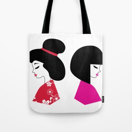 Maiko Illustration Tote Bag