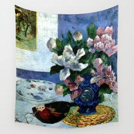 """Paul Gauguin """"Still Life with a Mandolin"""" Wall Tapestry"""