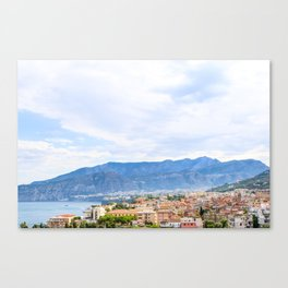 Colorful Sights in Sorrento, Italy Canvas Print