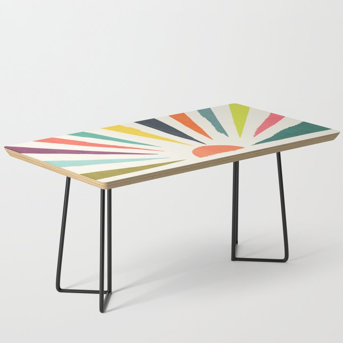 Rainbow ray Coffee Table