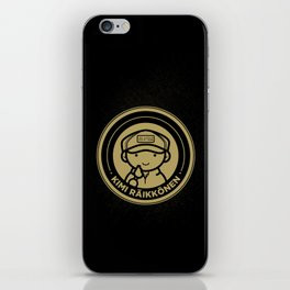 Chibi Kimi Raikkonen - Lotus F1 Team iPhone Skin
