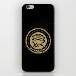 Chibi Kimi Raikkonen - Lotus F1 Team iPhone Skin