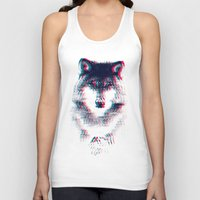 wolf Tank Tops featuring Act like a wolf.  by Mason Denaro
