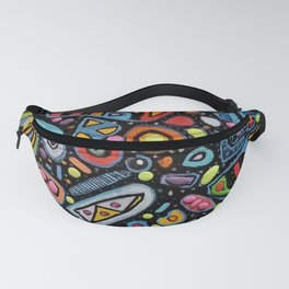 The Eyes Are Skewed Fanny Pack