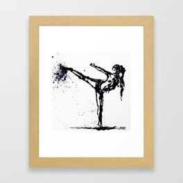 Yop explosion Framed Art Print