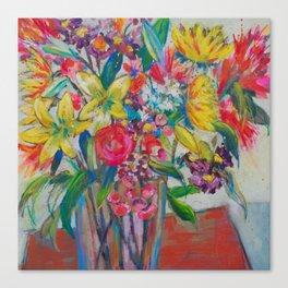 Big Bold Blooms Canvas Print