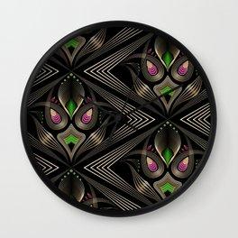Art Deco 35 . Mystic . Wall Clock
