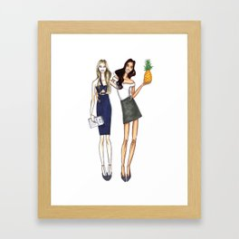 Besties Framed Art Print
