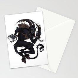 Krampus Stationery Cards