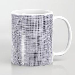 Ink Weaves: White Quartz Coffee Mug