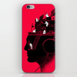 Everyday is a New Soundtrack iPhone Skin