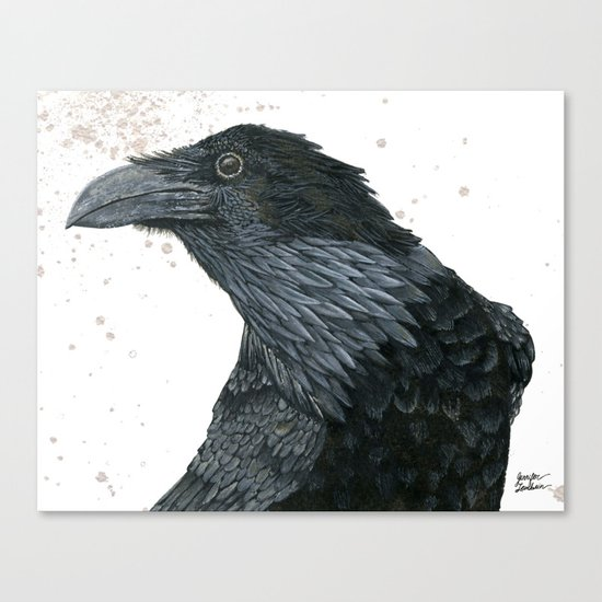 Raven Croft 2 Canvas Print