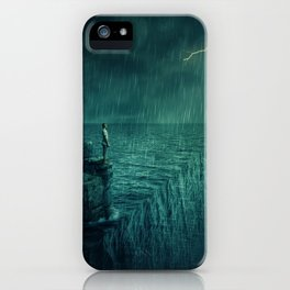 At the edge of Nothing iPhone Case