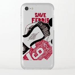 Save Ferris Clear iPhone Case