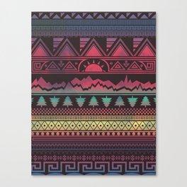 Autunno   Tribal Canvas Print