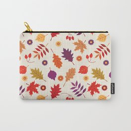 Autumn foliage with bright leaves Carry-All Pouch