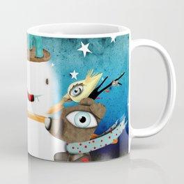 Aurora Australis Christmas Whimsical Stars Coffee Mug