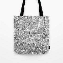 ESHE black white Tote Bag