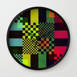 8bit Raster Wall Clock