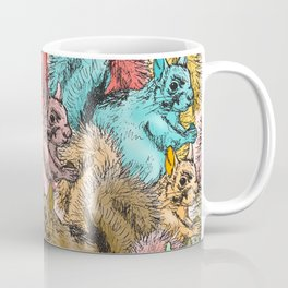 Squirrels Parade Coffee Mug