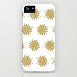 Mosaic Sun iPhone Case