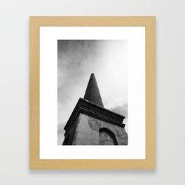 Beehive Mine Chimney Maldon Framed Art Print