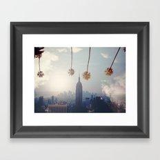 COAST TO COAST Framed Art Print