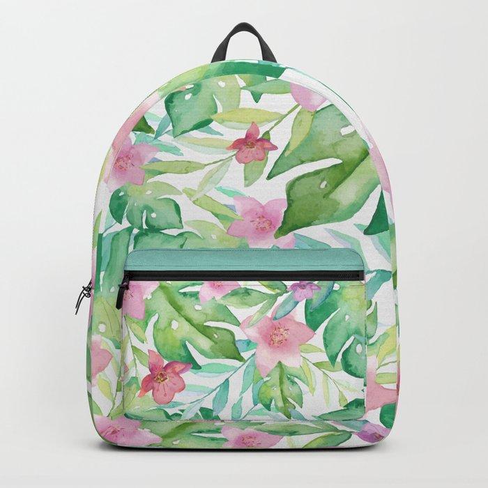 FLOWERS WATERCOLOR 17 Backpack