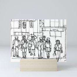 The Crosswalk Mini Art Print