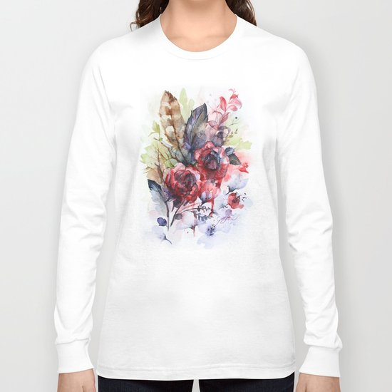 Bloodflowers Long Sleeve T-shirt