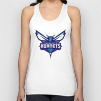 nba Tank Tops featuring NBA - Hornets by Katieb1013